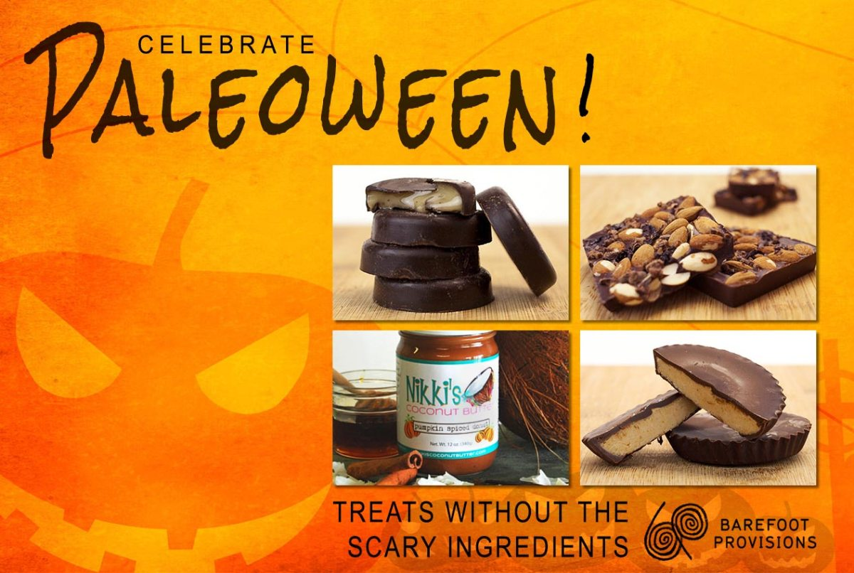 """barefoot provisions """"paleoween"""" collection"""