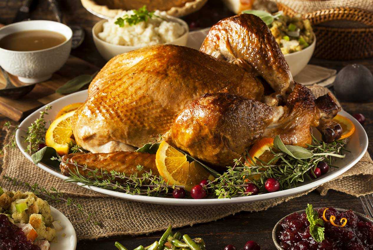 how to shop healthy for thanksgiving