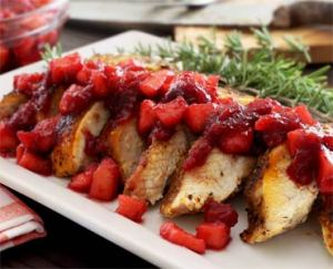 paleo turkey recipe with apple cranberry compote