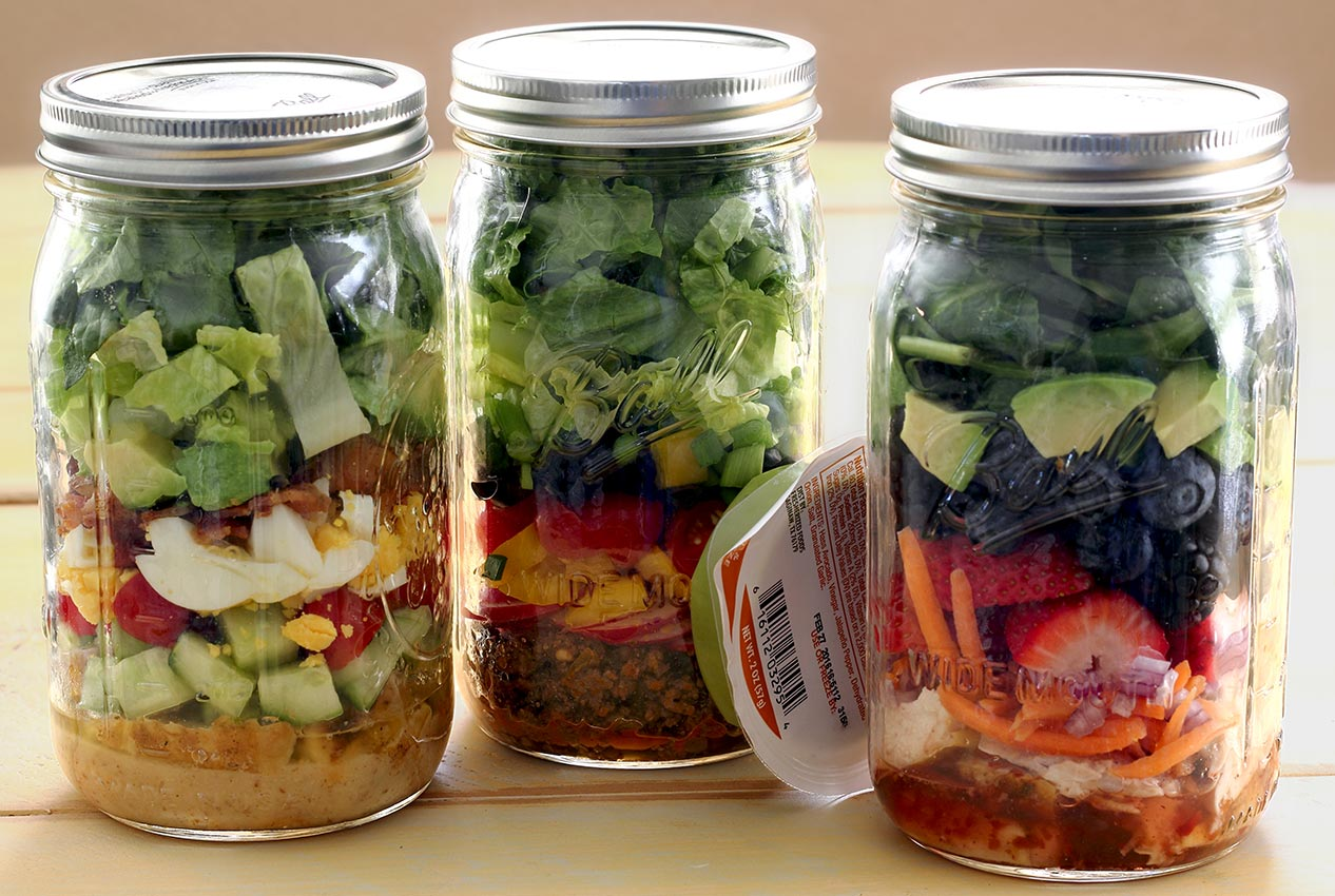 paleo lunch in a jar