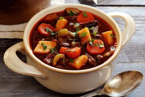 easy paleo recipe for vegetable and beef soup