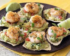 paleo shrimp tostada bites easy recipe