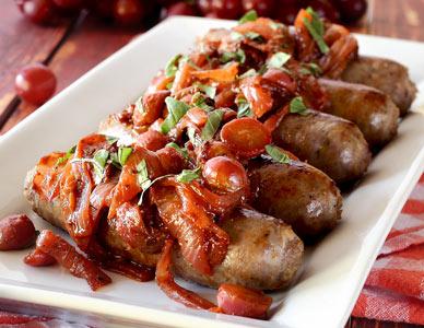 easy paleo recipe for Italian sausage one pan paleo meal