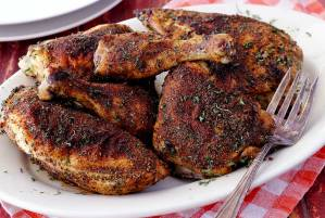 easy paleo recipe for herb and spice baked chicken