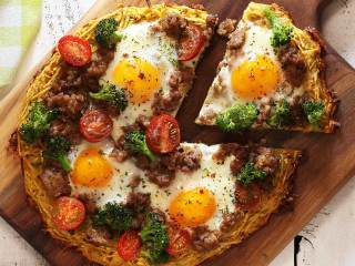Paleo and Gluten-Free Breakfast Pizza