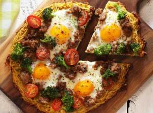 paleo and gluten free breakfast pizza recipe