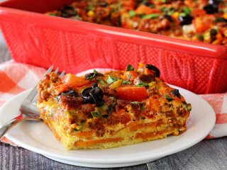 Easy & Awesome Paleo Mexican Egg Bake
