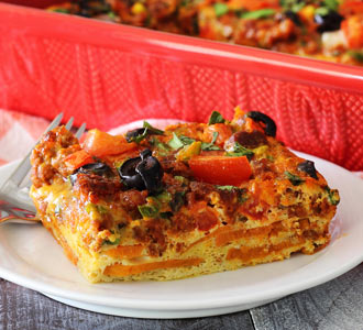 Mexican Egg Bake Recipe