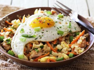 Easy Paleo Chicken Fried Rice Bowl
