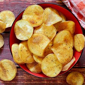 Light & Crispy Paleo Sweet Potato Chips Recipe