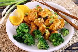 simple paleo recipe for Asian orange chicken takeout style