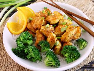 EZ Paleo Orange Chicken Takeout Style