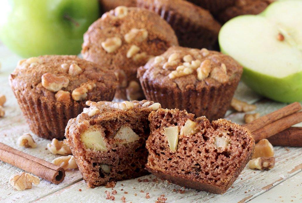 simple paleo and gluten free apple muffin recipe