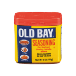Old Bay Seasoning container