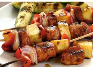 simple recipe for grilled chipotle-lime shish-kabobs
