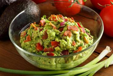 simple paleo and gluten-free recipe for a guacamole dip