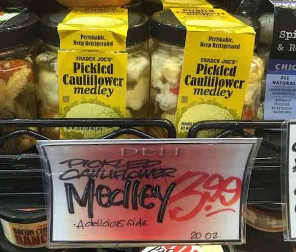 Pickled Cauliflower Medley | Trader Joe's