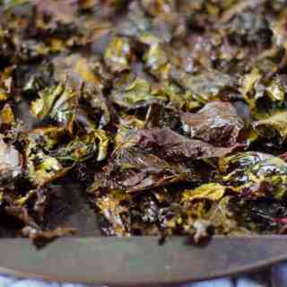 Zesty Ranch Kale Chips