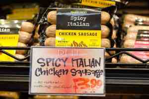 spicy italian chicken sausage