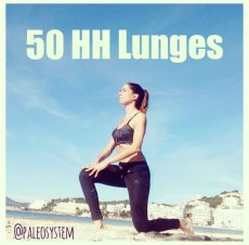 50 HH Lunges