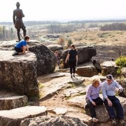 On the News | Dinosaur fossils and the Civil War evoke history in Gettysburg @ Penn Live