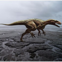 Just out | A methodology of theropod print replication utilising the pedal reconstruction of Australovenator and a simulated paleo-sediment @ PeerJ