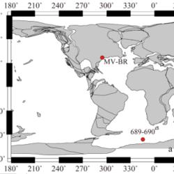 Just out | Vital effects and ecologic adaptation of photosymbiont-bearing planktonic foraminifera during the Paleocene-Eocene Thermal Maximum, implications for paleoclimate @ Paleoceanography and Paleoclimatology