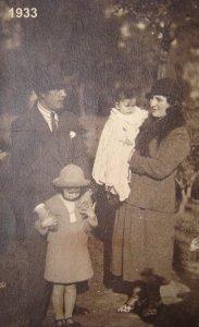 foto 1933 El Rosedal
