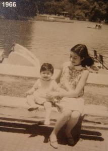 foto 1965 El Rosedal