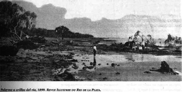 Palermo a orillas del río, 1899