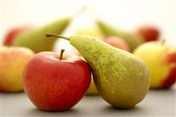 Larga vida a peras y manzanas con recubrimiento natural