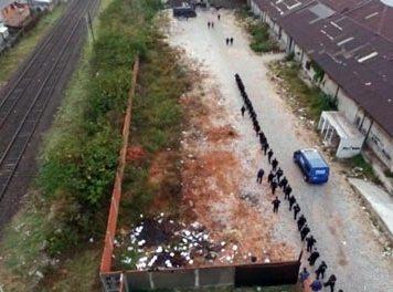 Desalojaron a más de 30 personas del predio de la ex bodega Giol