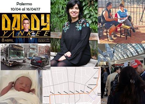 Sucedió en Palermo durante la semana del 10 al 16 de abril de 2017