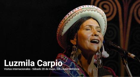 Luzmila Carpio en el CCK