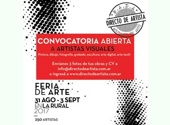 Impulso Cabrera / BADA Directo De Artista 2017 - PREMIO a jóvenes artistas para difundir y vender sus obras