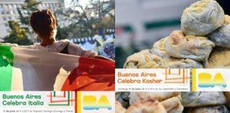 Buenos Aires celebra por partida doble: Italia y Kosher