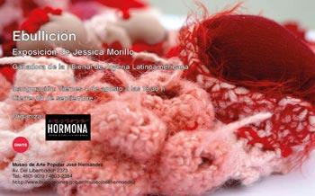Jessica Morillo, ganadora de la 1ra. Bienal de Joyería Latinoamericana, expone en el Hernández