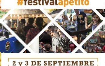 Festival Apetito en el Hipódromo de Palermo el 2 y 3 de septiembre