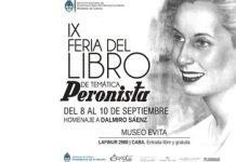 El Museo Evita invita a la VIII Feria del Libro de Temática Peronista