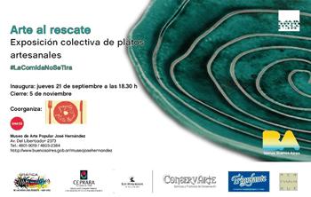 Inauguración de la expo Plato Lleno en el Museo Hernández