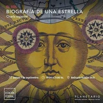 Charlas PLANETARIO presenta SOL -Biografía de una estrella