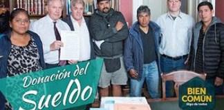 El legislador Vera donó 45 mil pesos de su sueldo a la AMVCABA