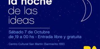 """Segunda edición de """"La Noche de las Ideas"""""""