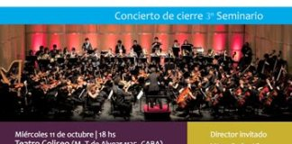 La Orquesta Juvenil Argentina en Concierto en el Teatro Coliseo