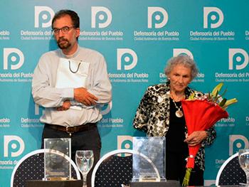 Lita Boitano y Gustavo Carrara