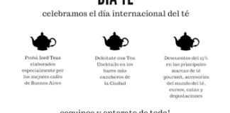 Viernes 15/12 - Día Internacional del Té