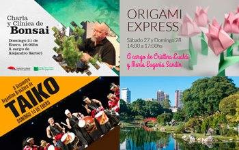 El Jardín Japonés y su agenda para el verano 2018