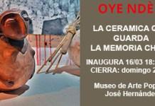 OYE NDÈN - La cerámica que guarda la memoria Chaná