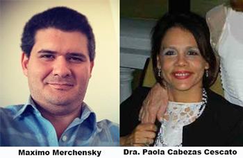 Máximo Merchensky - Paola Cabezas Cescato