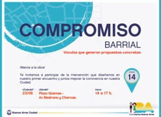 Compromiso Barrial en Plaza Güemes